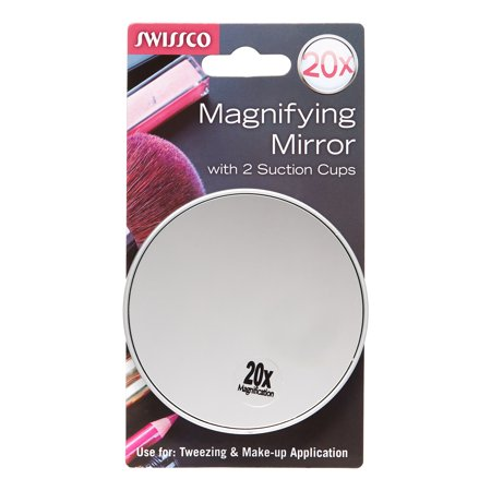 Swissco Suction Cup Mirror 20x Magnification - Walmart.com
