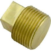 """Brass Plug, Hayward, 3/4"""" Male Pipe Thread"""