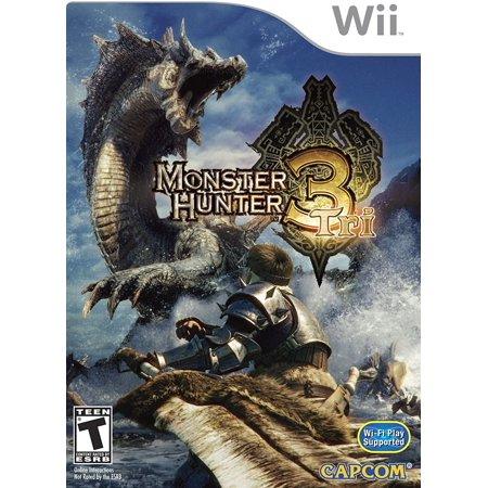 Monster Hunter Tri (Nintendo Wii) - Pre-Owned - Dog Bounty Hunter Wig
