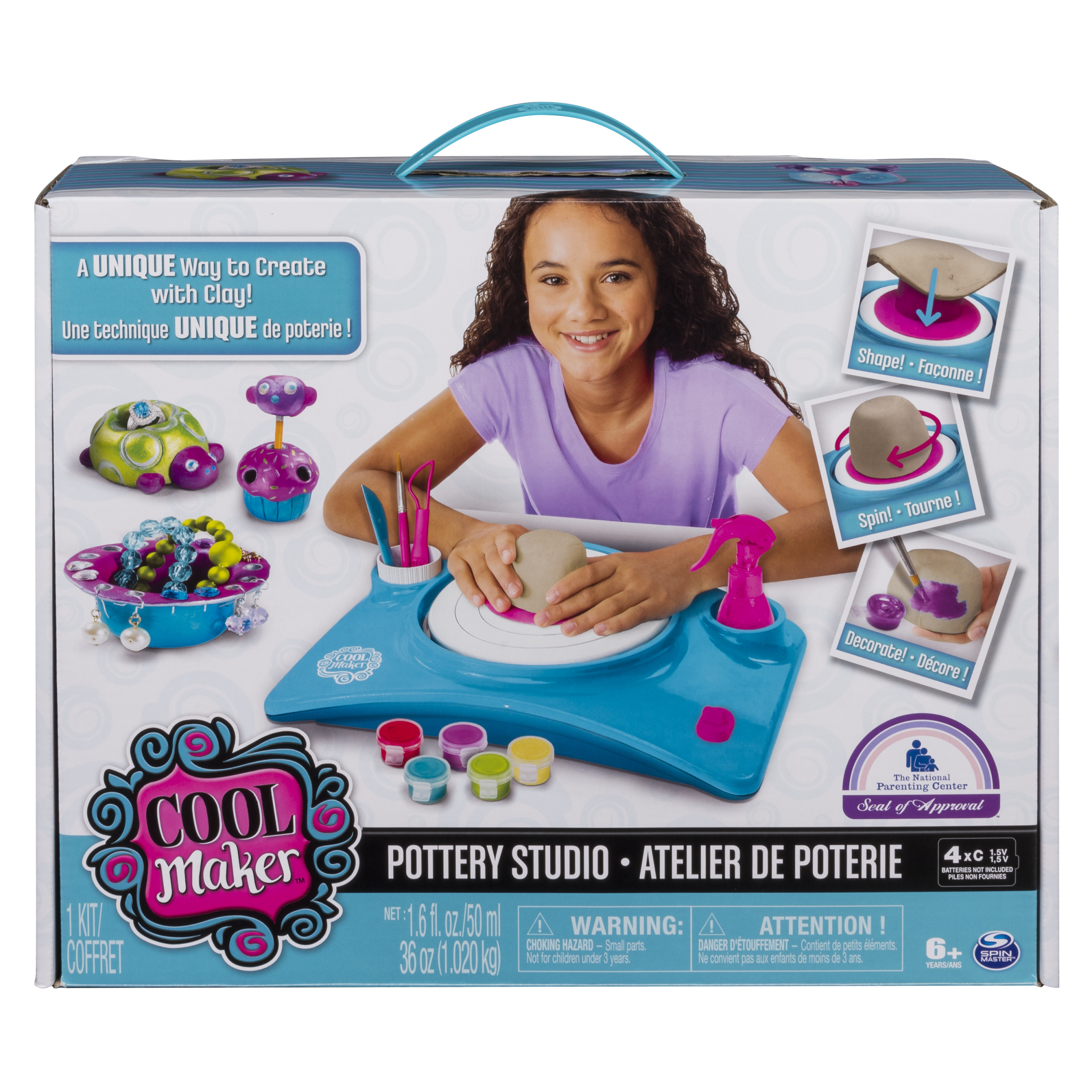 Cool Maker Pottery Studio by Spin Master Packaging May Vary