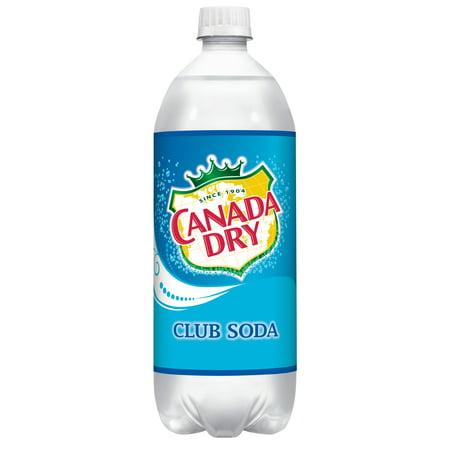 Canada Dry Club Soda, 1 L