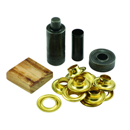 Tennis Grommet (General Tools Grommet Kit with 12 Solid Brass Grommets, 1/2-Inch)