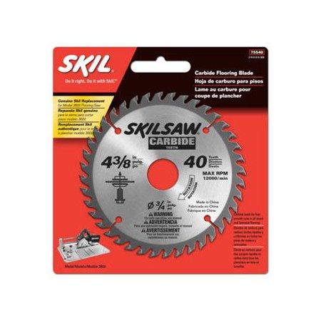 Skil 75540 4-3/8 in. x 40 Teeth Carbide Tipped Flooring Blade