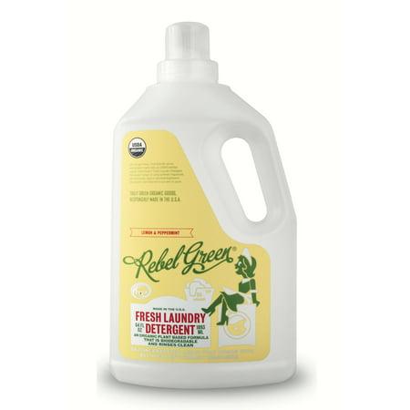 Rebel Green Peppermint & Lemon Laundry Detergent