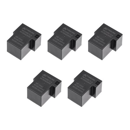5 Pcs T90-12VDC-TL-a DC 12V Coil SPST 4 Pin PCB Electromagnetic Power Relay - image 3 of 3