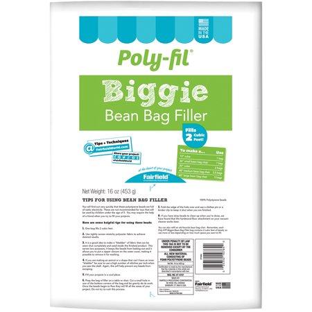 Poly Fil Biggie Bean Bag Filler 16oz Walmart Com