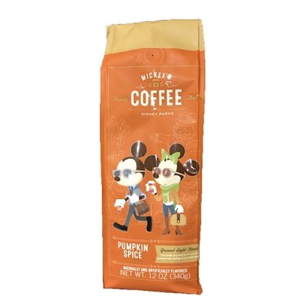 Disney Mickey's Coffee Pumpkin Spice 12oz. New Sealed - Disney Pumpkin