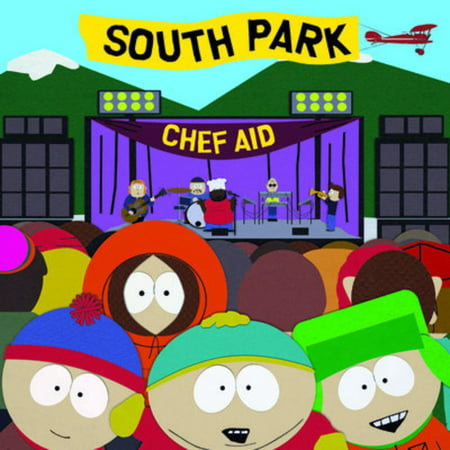 South Park: Chef Aid Soundtrack (CD) - Heavy Metal Halloween Soundtrack