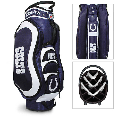 Team Golf NFL Indianapolis Colts Medalist Golf Cart Bag