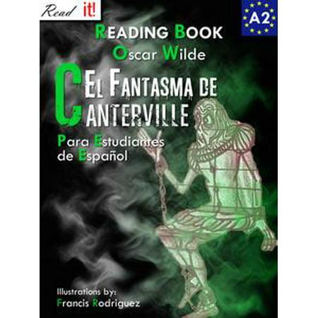 El Fantasma de Canterville para estudiantes de español. Libro de lectura Nivel A2. Principiantes. - eBook](Caras De Fantasmas Para Halloween)