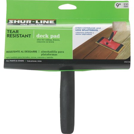 "Shur-Line 9"" Tear Resistant Deck Pad with Handle"
