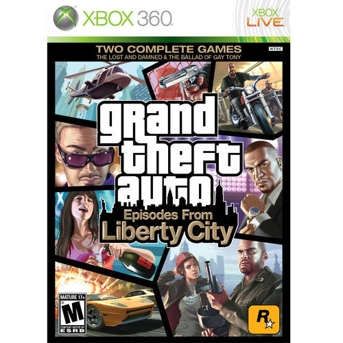 Grand Theft Auto: Episodes From Liberty City, (Pre-Owned), 2K, Xbox 360, 886162471915