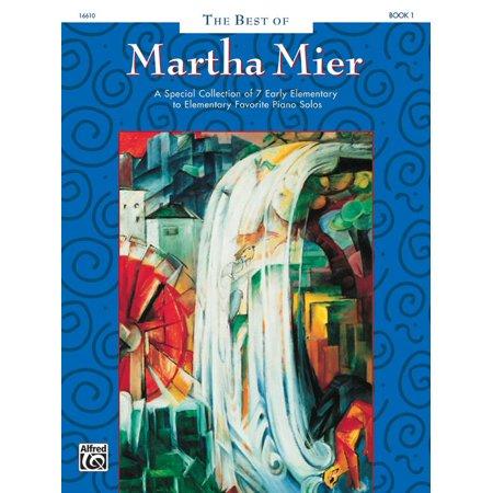 The Best of Martha Mier, Bk 1 (Paperback)