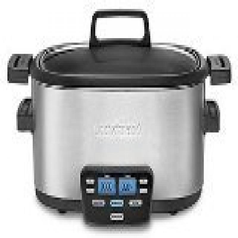 Cuisinart Cook Central Slow Cooker - 3-in-1 - 4 quart