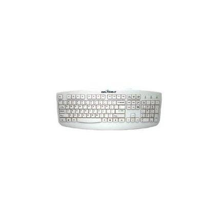 Seal Shield Silver Storm Washable Medical Grade Keyboard - Dishwasher Safe & Antimicrobial (
