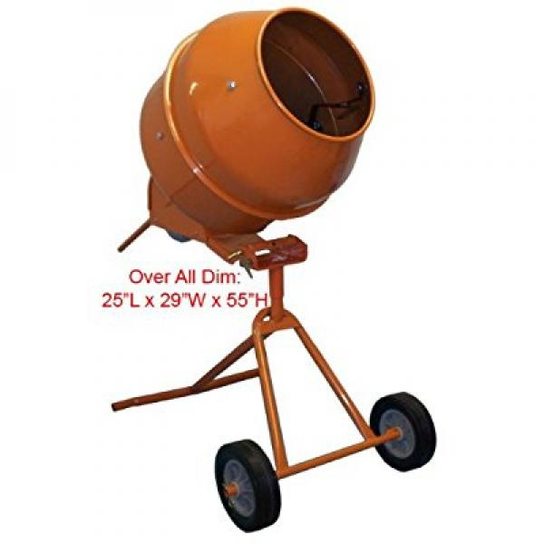 5 Cubic Feet Tall Portable Cement Concrete Mixer by