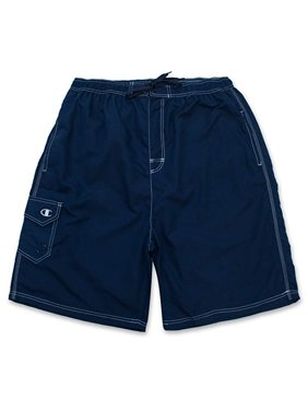 3b54d24bd4 Product Image Champion Mens Big and Tall Solid Swim Trunk With Cargo Pocket
