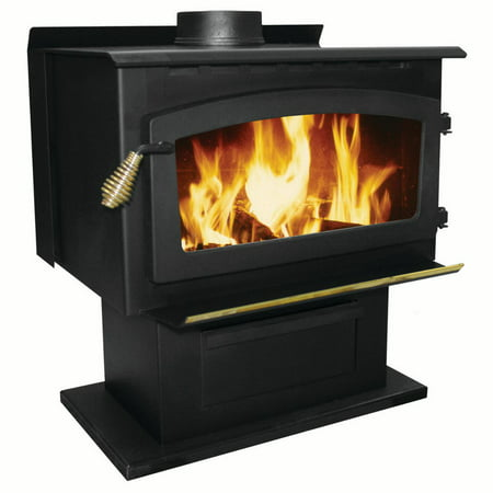 King 89,000 Btu 2000 Sq. Ft.EPA Certified wood Stove ()