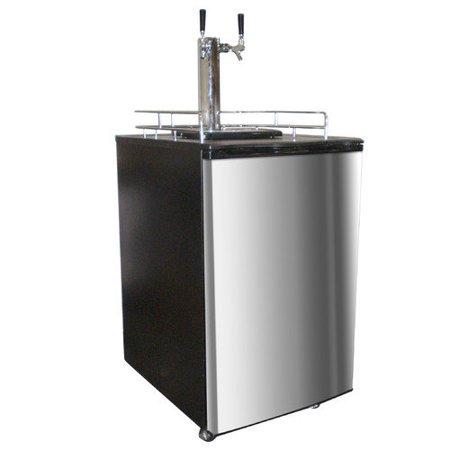 Nostalgia Electrics Dual Tap Freestanding Beer Dispenser