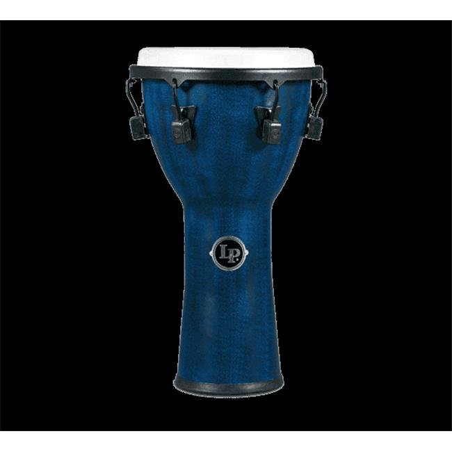 Latin Percussion LP726B Tuned Djembe 11 in. Synthetic Shell & Head, Blue