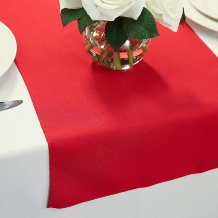Polyester Table Runners 14 x 72 - Red Table Runner