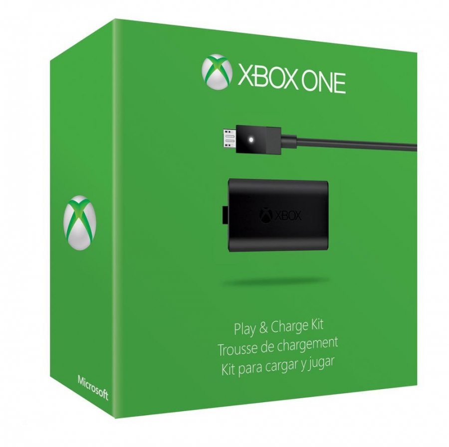 Microsoft Official Xbox One Play and Charge Kit (Bulk Packaging)