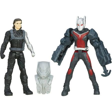 Marvel Captain America Civil War Winter Soldier and Ant