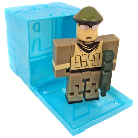 Roblox RED Series 3 Redwood Prison: Spec Ops Mini Figure [Blue Cube with Online Code] [No Packaging] (Specs Brillen Online)