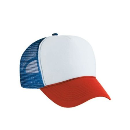 Red White And Blue Trucker Hat Dustin Henderson Cap Stranger Things Netflix Gift