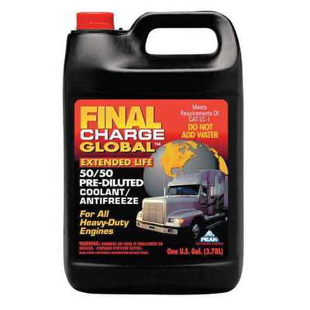 Peak Final Charge 50/50 Pre-Diluted Global Extended Life Anti-Freeze ()