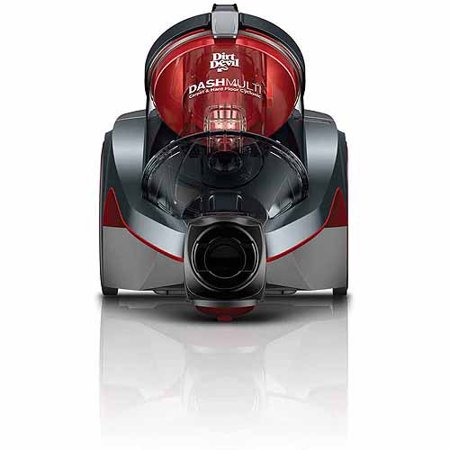 Dirt Devil Dash Bagless Canister Vacuum with SWIPES, SD40050B