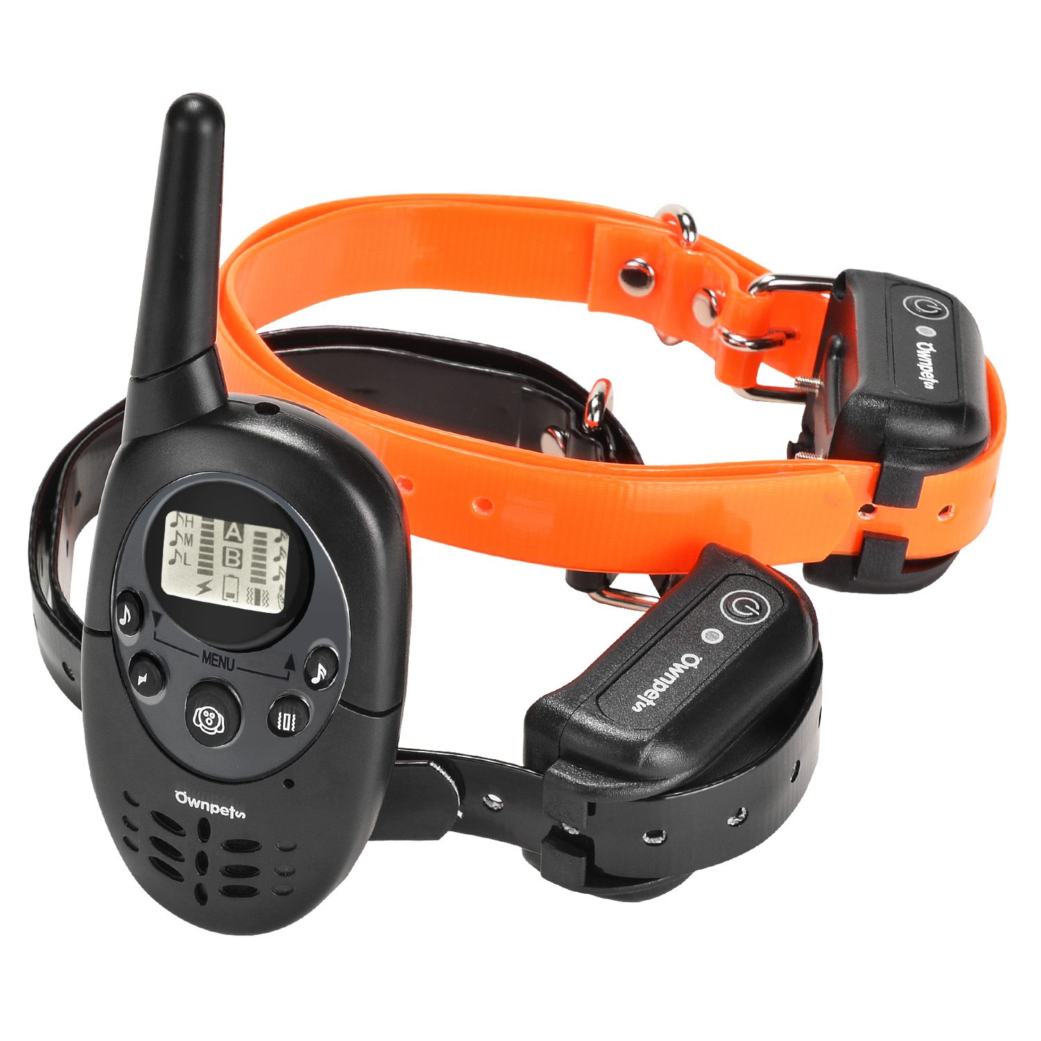 Ownpets Remote Dog Training Collar, Reable and 100% Waterproof Dog Shock Collar For All Size Dogs,600 yards Range