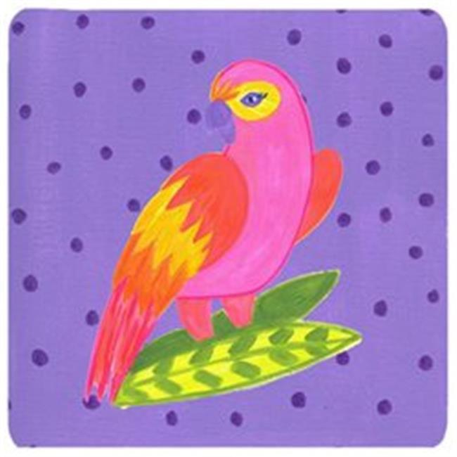 Bird - Parrot Foam Coasters - Set Of 4, 3.5 x 3.5 In. - image 1 of 1