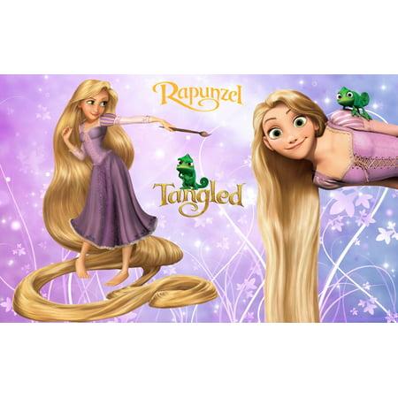 Tangled Rapunzel Frog Cake Topper Edible Frosting Image 1/4 Sheet](Rapunzel Cake Walmart)