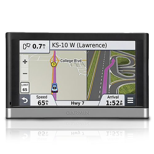 "Garmin nuvi 5"" Automobile Portable GPS Navigator, Lifetim..."