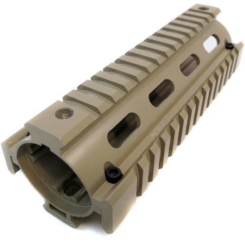 Monstrum Tactical AR-15 Drop-In Quad Rail, Carbine Length