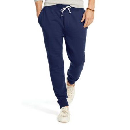 Pants Fleece Lauren Blue Jogger Polo Cruise Drawstring Ralph Navy 8knwP0O