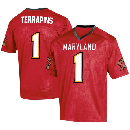 - Men's Russell Red Maryland Terrapins Fashion Football Jersey