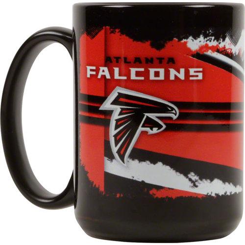 NFL - Atlanta Falcons 15 oz. Black Graffiti Mug
