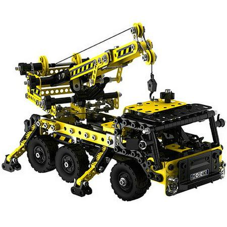 Erector Sets For Adults (Meccano-Erector Crane Truck Play)