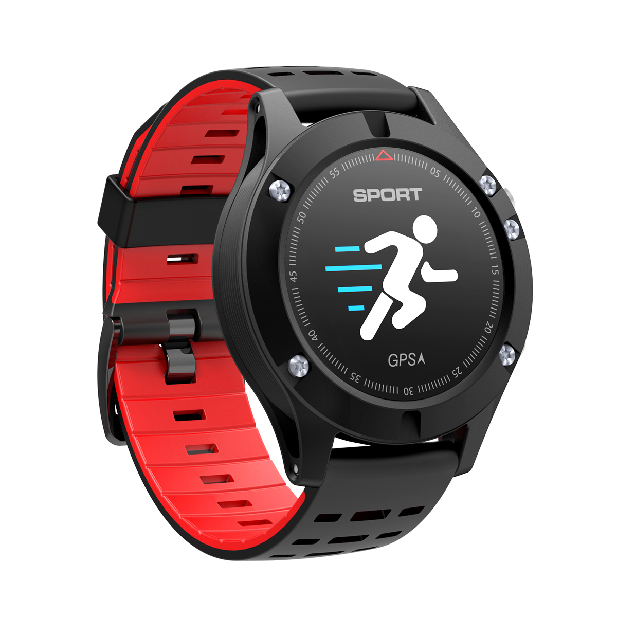 Diggro DB-05 GPS Smart Bracelet Altimeter Barometer Thermometer Color OLED Multi-sports Continous Heart Rate Call... by