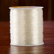 1 PC DIY 0.8mm 100 Meter Clear Stretch Elastic Beading Cord String Thread Spool Roll P15