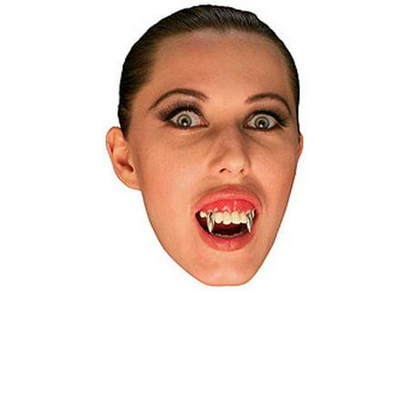 Vampire Teeth with Silver Fangs Rubies 2421 - Teeth Fangs