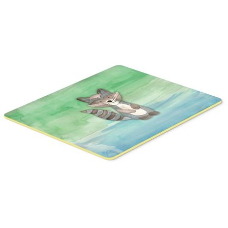 Carolines Treasures BB7438CMT 20 x 30 in. Raccoon Watercolor Kitchen or Bath Mat - image 1 of 1