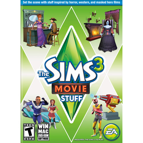 Sims 3 Movie Stuff Pack (PC)