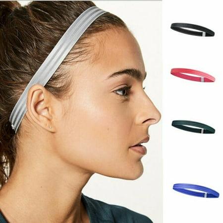 Thin Hair Band  for Sport Yoga Sweatband Non-Slip Headband Hair Accessories