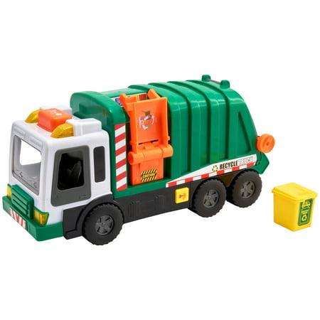 Utility Van (Adventure Force Utility Vehicle Light & Sound Light Pole Bucket Truck)