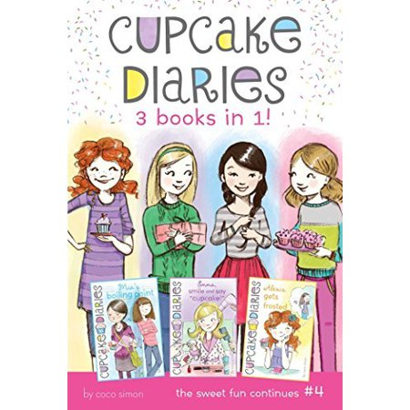 """Cupcake Diaries 3 Books in 1! (Mia's Boiling Point/Emma, Smile and Say """"Cupcake""""/Alexis Gets Frosted) - image 1 of 1"""
