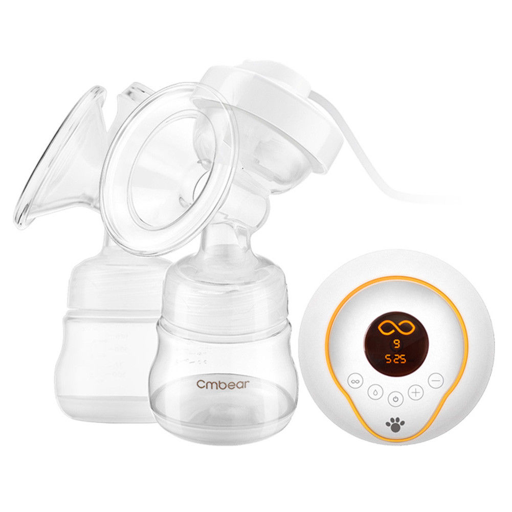 Electric Breast Pump, TOPCHANCES Rechargeable Breastfeeding Pump with 9 Levels Breast Milk Suction and Breast... by TOPCHANCES