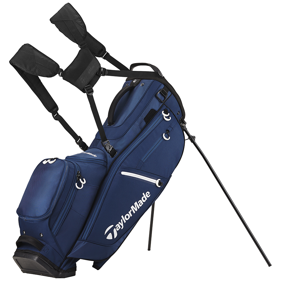 TaylorMade FlexTech Crossover Stand Bag Gray/Blue